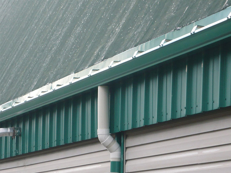 Commercial Gutters Gutter Sales Service Cleaning And